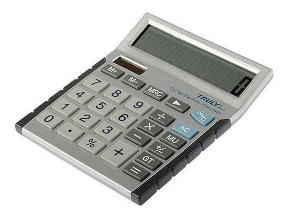Calculadora De Mesa Truly 2008a-12 12 Dígitos
