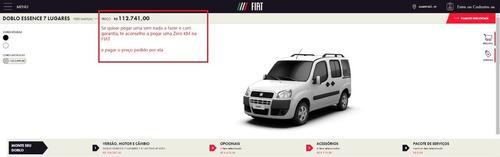 Fiat Doblô Xingú Adventure 1.8  - A Doblô Mais Top De Linha