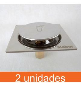 Ralo Click Meber Ralo Inteligente 15x15 Inox [2 Unidades]