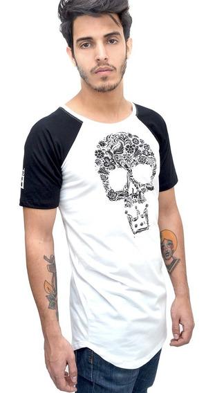 Camisa Long Line Principado/ Tam. Gg / Cor Branca