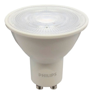 Pack X10 Dicroicas Led Philips Gu10 5w = 50w Calidas Fria