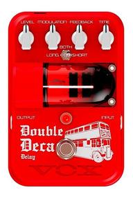 Pedal Vox Double Deca | Delay | Para Guitarra