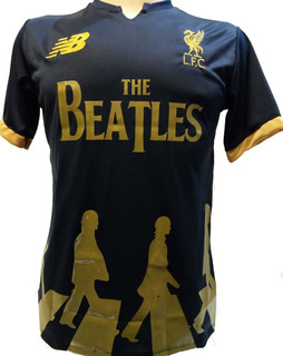 Camisa Liverpool, Vermelha, Branca, Preta, Beatles