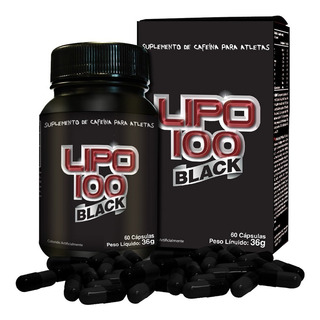 Lipo 100 Black - 60 Cápsulas - Intlab