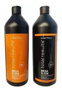 Matrix Total Results Mega Sleek Champu + Acondicionador 1 Lt