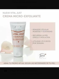 Crema Micro Exfoliante Vital Just