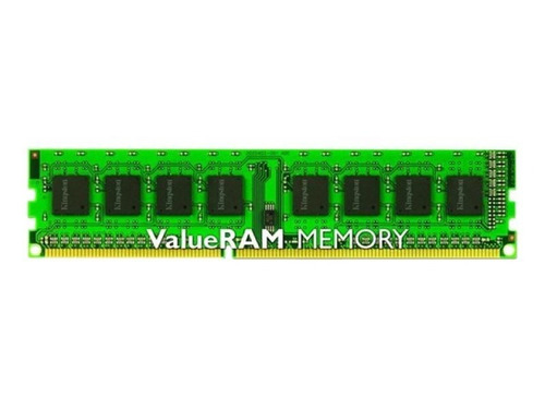 Imagen 1 de 9 de Memoria Ram Kingston Valueram Ddr3 4 Gb