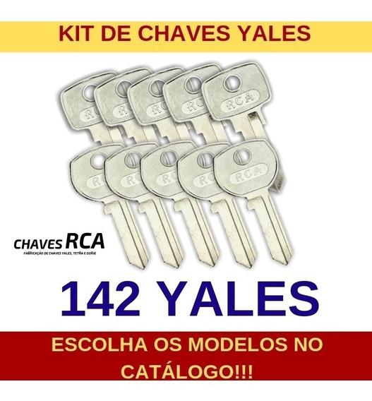 Kit De 142 Chaves Yales Virgens Para Cópia - Rca