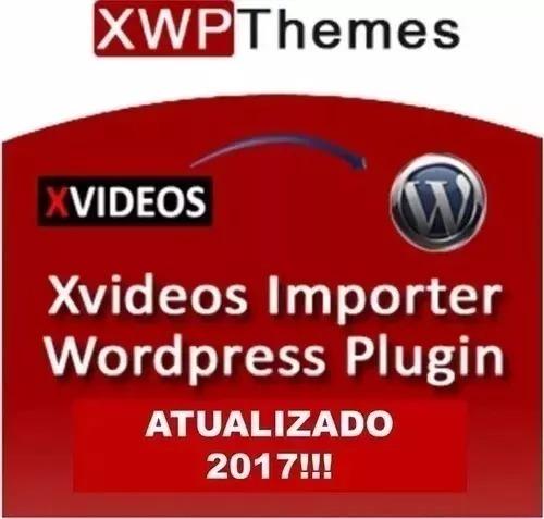 Tema + Plugin Importer Para Sites Adultos Xvideos 2018
