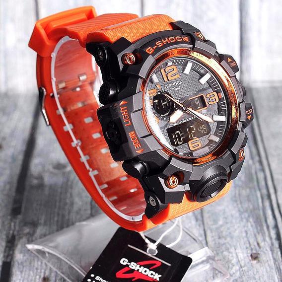 Relogio Casio Gshock Mudmaster Gwg1000,laranja, 12x S/juros
