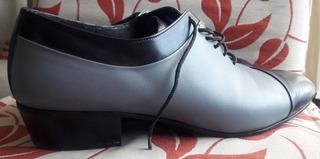 Zapato Hombre De Baile Tango, Salsa, Rock Talle 42