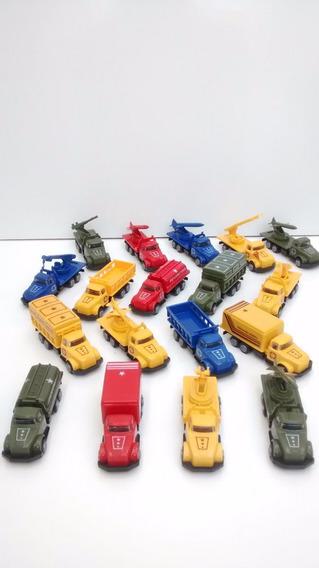 Kit C/ 12 Colecionável Caminhão Escala - Pevi