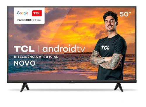 Imagem 1 de 6 de Smart Tv Tcl Led 4k Hdr 50 , Google Assistant, Wi-fi -50p615