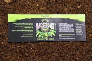 Sustrato Profesional Mad Earth Classic 80 Litros Cultivo