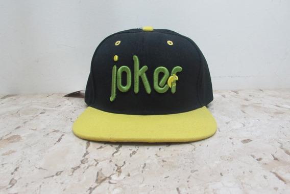 Boné Colors Joker - Preto Com Amarelo