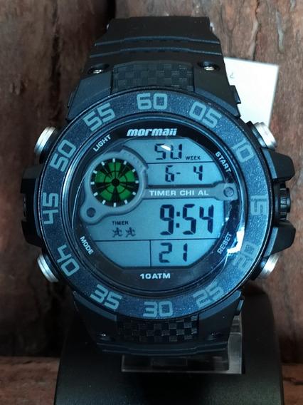 Relógio Mormaii Masculino Mod Mo9451/8c - Original Com Nf