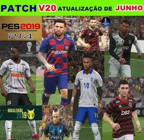 Patch Pes 2019 Ps4 Dlc 6.0 Atualização Junho