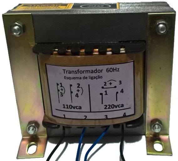 Transformador Trafo Voltagem Saída 6 0 6v / 5a 30w Uso Geral
