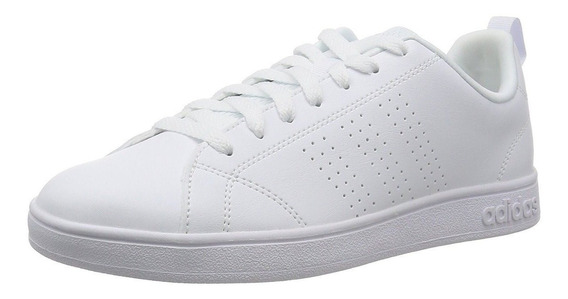 Tenis adidas Advantage Clean Negro / Blanco Niñas/jr