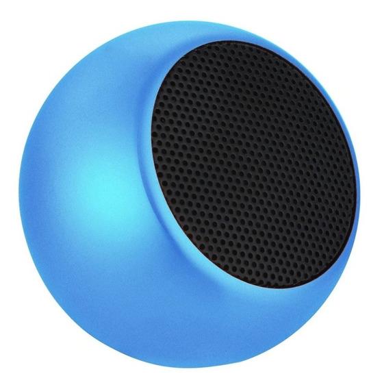 Caixinha Som Portátil Metal Wireless Speaker 3w Bluetooth