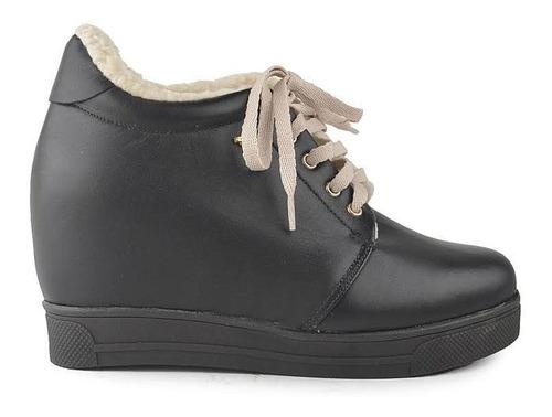 Imagen 1 de 5 de Zapatillas Zapatos De Mujer De Cuero Vacuno Bethel - Ferraro