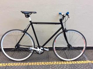 Bicicleta Fixie Ruedas Macizas