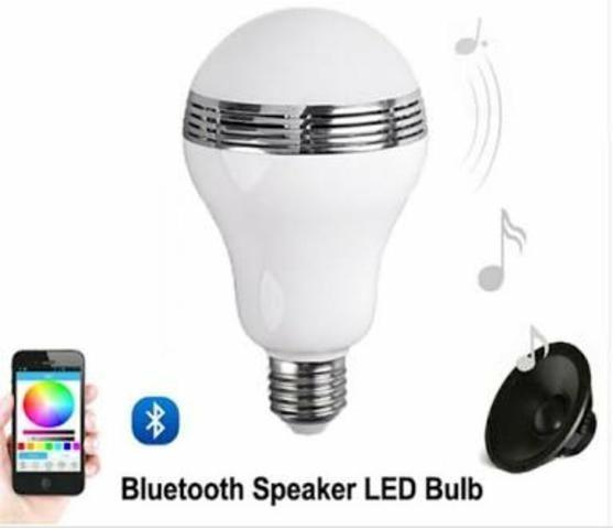 Caixa De Som Lampada Quanta Bluetooth Sem Juros