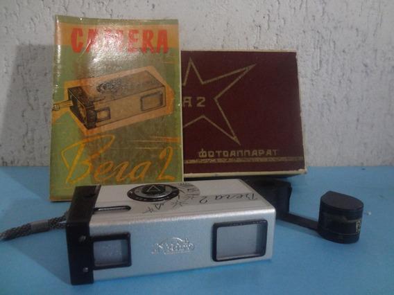 Antiga Máquina - Câmera Fotográfica Bera 2 - Made In Cccp