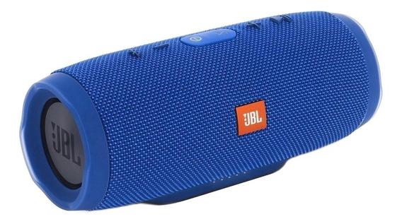 Caixa de som JBL Charge 3 portátil Blue