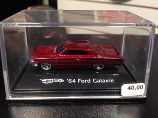 64 Ford Galaxie Hot Wheels 1/87