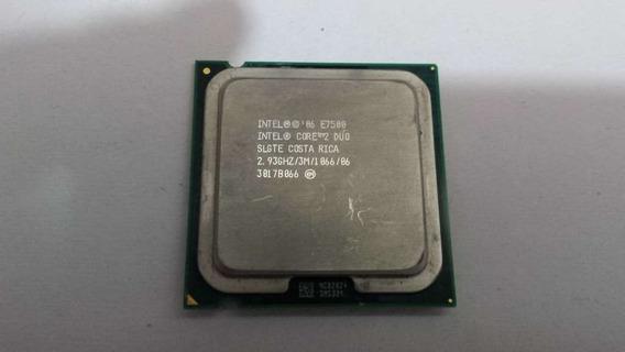 Processador Intel E7500 Core 2 Duo 2.93 Ghz E Fsb1066 Lga775