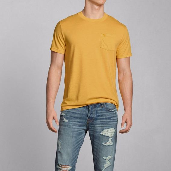 Camiseta Importada Abercrombie Masculina 100% Original Bermudas Moletom Camisas Camisetas Polo Jaquetas Casaco Hollister