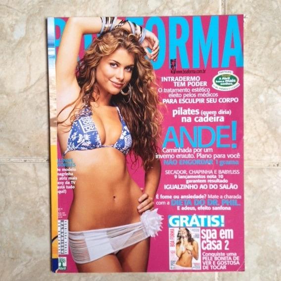 Revista Boa Forma 205 Julho 2004 Alinne Moraes Atriz Tv