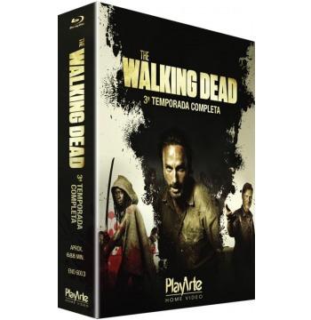Blu-ray Original The Walking Dead - 3ª Temporada