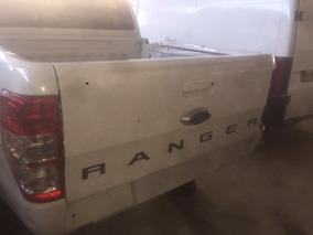 Tampa Traseira Da Ranger 2013 A 2019 Completa (camera De Re)