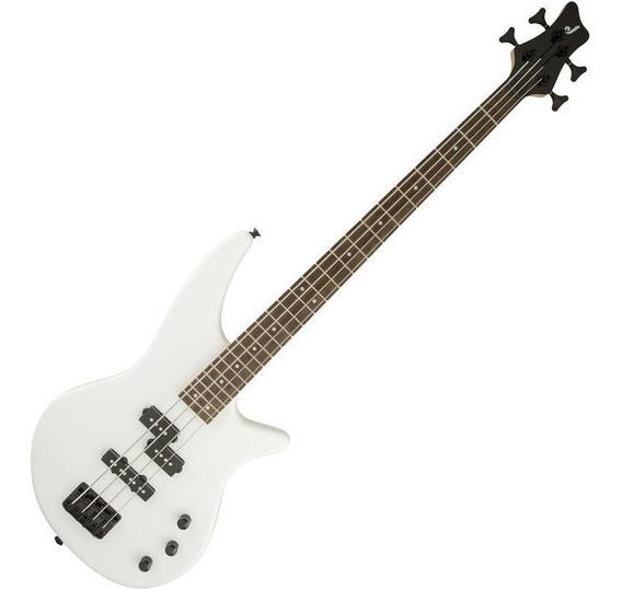 Contrabaixo Baixo Jackson Spectra Bass Series Js2 Branco