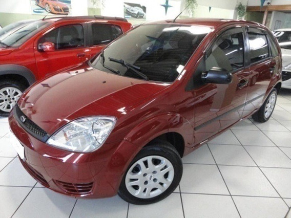 Ford Fiesta Hatch 1.0 Mpi Vermelho 8v Gasolina 4p {cod0022}