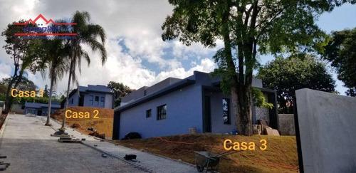 Casa À Venda, 70 M² Por R$ 413.400,00 - Jardim Estância Brasil - Atibaia/sp - Ca4316