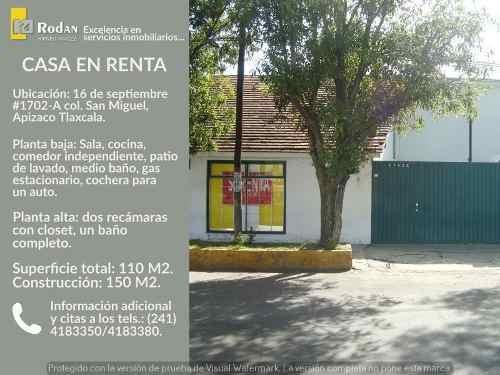 Casa Sola En Renta San Miguel