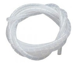 Espiral Plastico Porta Cable Paquete De 10 Metros Cs-15