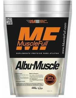 Albumina 450g Muscle Full 0%corante - Muscle Full