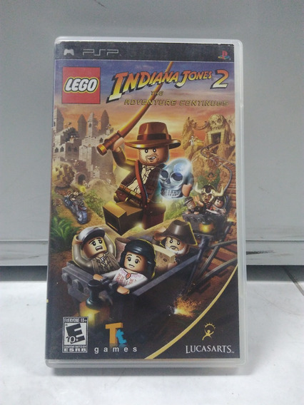 Lego Indiana Jones 2 - Psp - Com Caixa