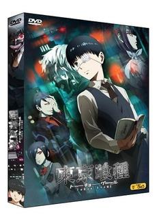 Tokyo Ghoul [4 Temporadas + Ovas] [4 Dvds]