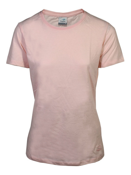 Remera Topper Basica Mujer Rosa