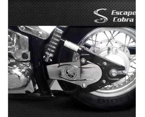 Protetor Carda Cobra Dragstar 650 Cromo Dragstar650