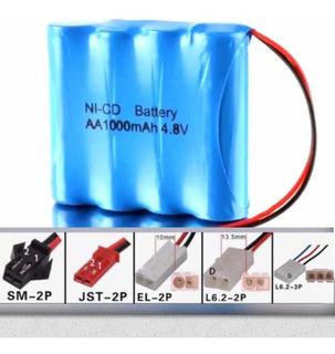Bateria Para Carrinho 4,8 V 1000 Mah