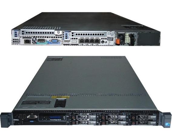 Servidor Dell Poweredge R610 2 Xeon Sixcore 64gb Hd 2x450gb