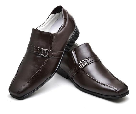 Sapato Masculino/ Social Comfort /100% Couro/ Ranster Ref:05