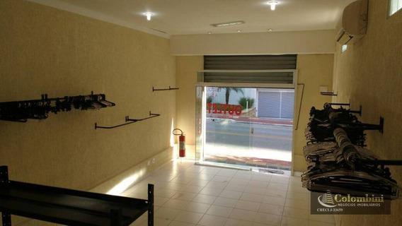 Salão À Venda, 92 M² - Santo Antônio - São Caetano Do Sul/sp - Sl0062