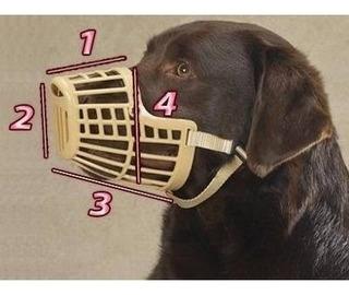 Bozal Para Perro Tipo Canasta 4 Tamaños